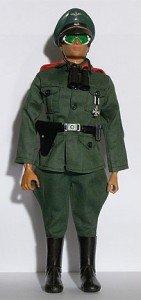 Geyperman vestido de soldado alemán
