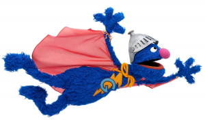 Super Coco volando