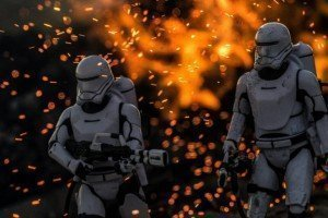 Foto flametroopers Star Wars