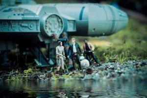 Foto Han Solo y compañía Star Wars