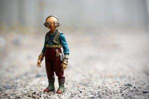 Foto Maz Kanata en Star Wars