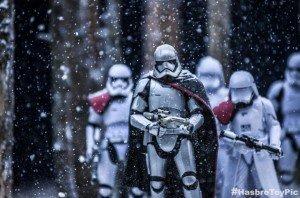 Foto Phasma con amigos en Star Wars