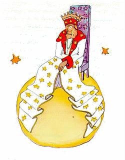 """Dibujo de """"El Rey""""."""