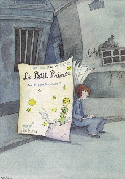 El Principito a ojos de la ilustradora Martine Delerm.