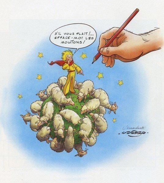 El Principito a los ojos de Uderzo (Ilustrador de Asterix).