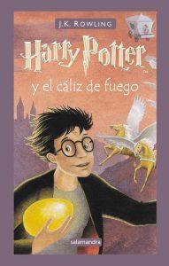 Foto portada libro Harry Potter y el cáliz de fuego