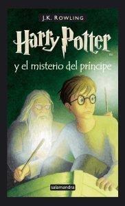 Foto portada libro Harry Potter y el misterio del príncipe