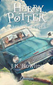 Foto portada libro Harry Potter y la cámara secreta