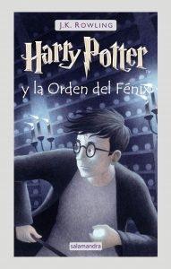 Foto portada libro Harry Potter y la Orden del Fénix