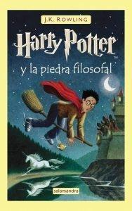 Foto portada del libro de Harry Potter y la piedra filosofal