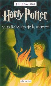 Foto portada libro Harry Potter y las reliquias de la muerte