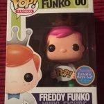 """Foto figura Número 00 """"Pink Hair"""" de la colección"""
