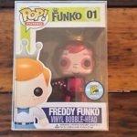 """Foto figura Número 01 """"Metallic Frankenberry"""" de la colección"""