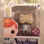 """Foto figura Número 17 """"The Walking Dead"""" de la colección Freddy Funko"""