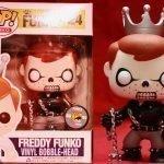 """Foto figura Número 24 """"Ghost Rider"""" de la colección Freddy Funko"""