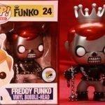 """Foto figura Número 24 """"Metallic Ghost Rider"""" de la colección Freddy Funko"""