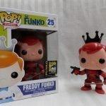 """Foto figura Número 25 """"Deadpool"""" de la colección Freddy Funko"""