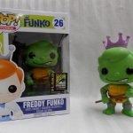 """Foto figura Número 26 """"Donatello"""" de la colección Freddy Funko"""