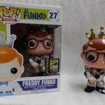 "Foto figura Número 27 ""Egon Spengler Marshmallow"" de la colección Freddy Funko"