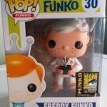 """Foto figura Número 30 """"Doc Brown"""" de la colección Freddy Funko"""