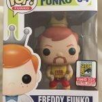 """Foto figura Número 34 """"Hulk Hogan"""" de la colección Freddy Funko"""