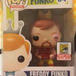 """Foto figura Número 34 """"Injured Hulk Hogan"""" de la colección Freddy Funko"""