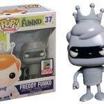 """Foto figura Número 37 """"Bender"""" de la colección Freddy Funko"""