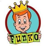 Dibujo del logo de Funko con la imagen de Freddy Funko y su famosa corona