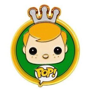 Dibujo del logo de Freddy Fuko para la colección de Funko Pop