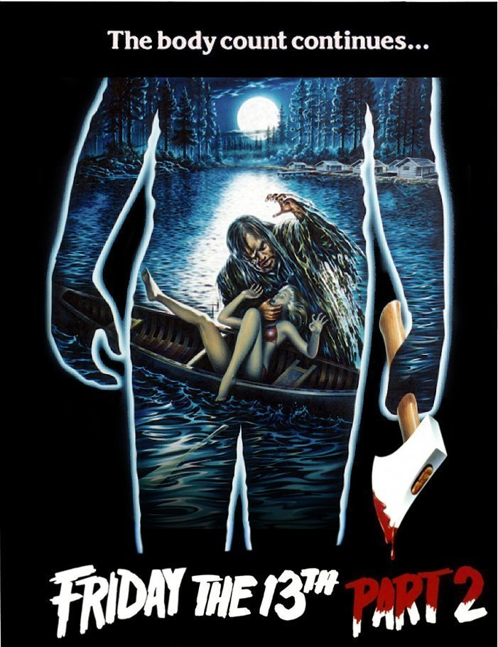 Foto del póster de la película Viernes 13, parte 2