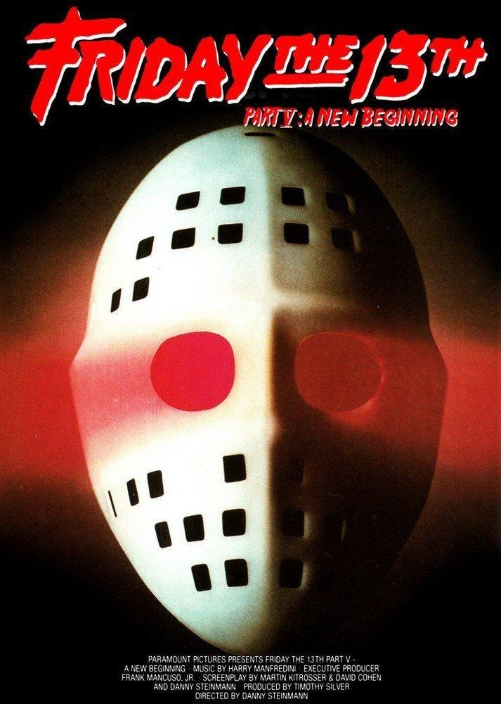 Foto póster película Viernes 13 parte V