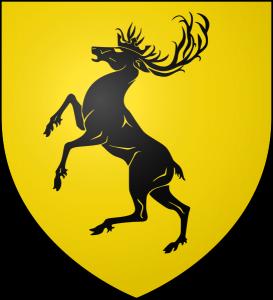 Los Siete Reinos de Juego de Tronos. Casta Baratheon de Bastión de Tormentas