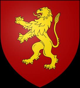 Los Siete Reinos de Juego de Tronos. Escudo Casa Lannister de Roca Casterly
