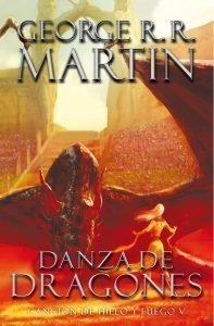Foto libro Danza de Dragones de Canción de Hielo y Fuego y Juego de Tronos