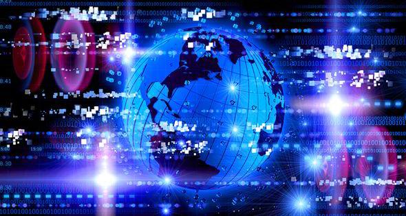 Foto del planeta simulada por ordenador