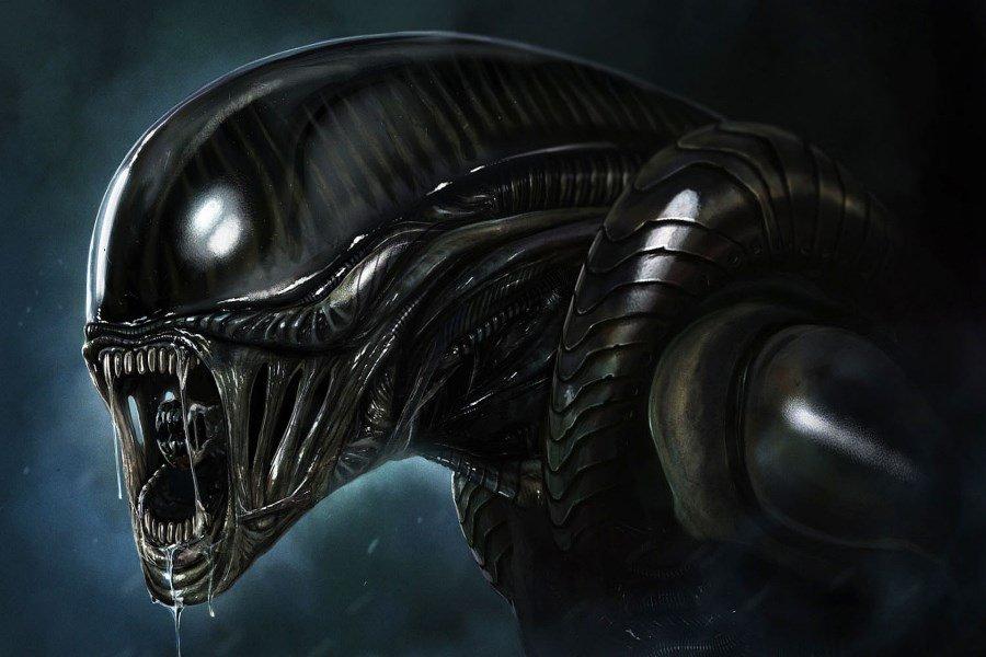 Foto de un alien en Alien el Octavo Pasajero