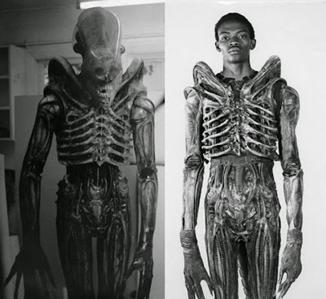 Foto de Bolajo Bolaji, actor que interpretó a Alien