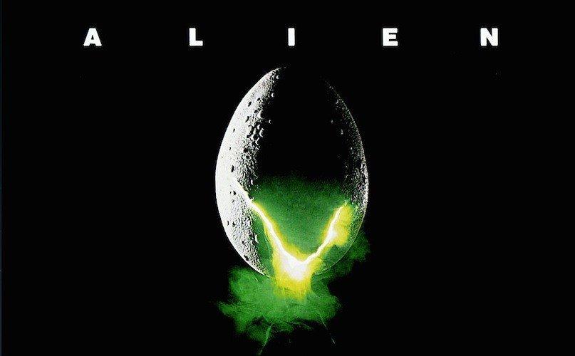 Foto primer huevo de Alien en un póster