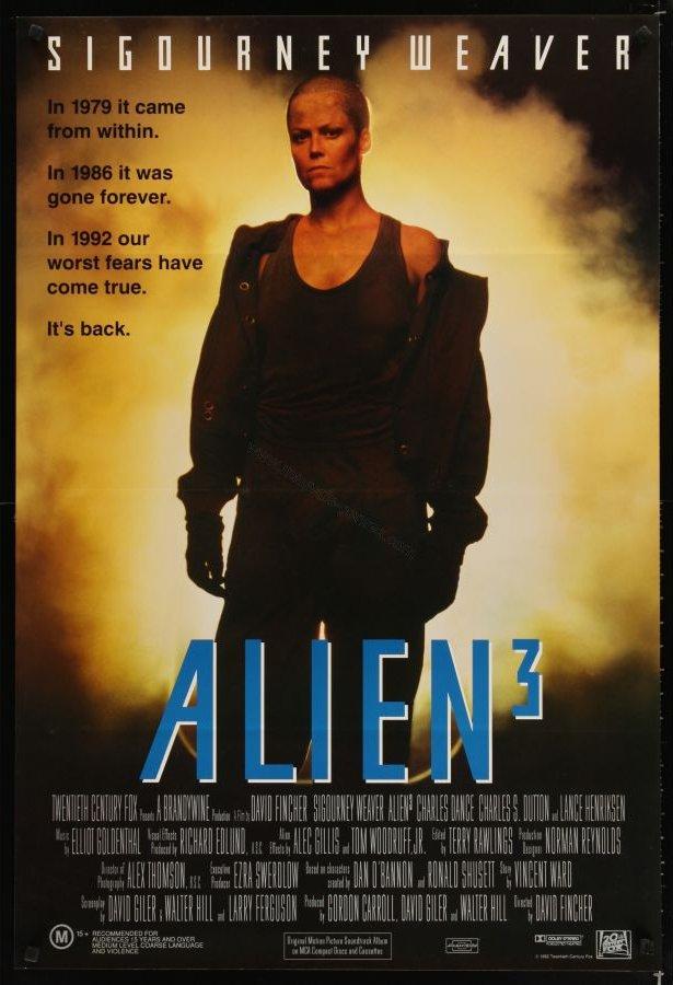 Foto cartel película Alien3