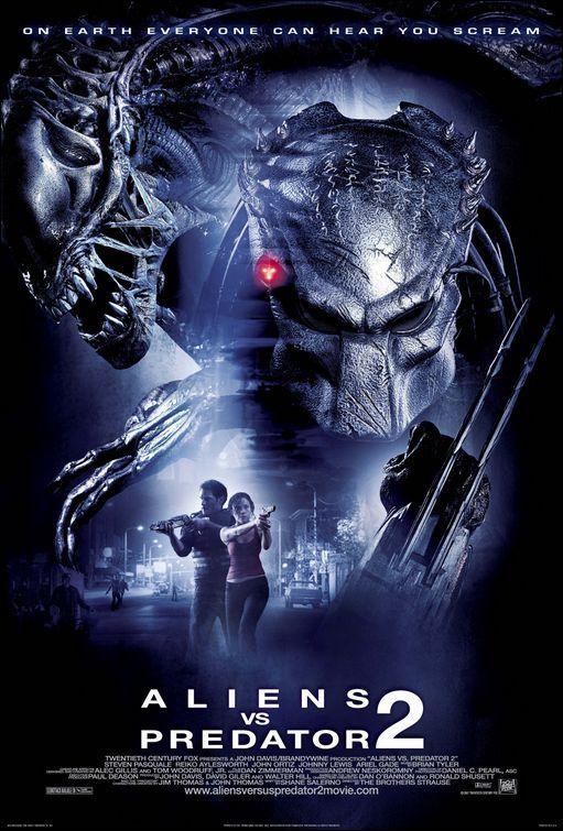 Foto cartel película Aliens vs Predator 2: Requiem