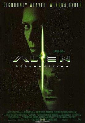 Foto cartel película Alien Resurrección