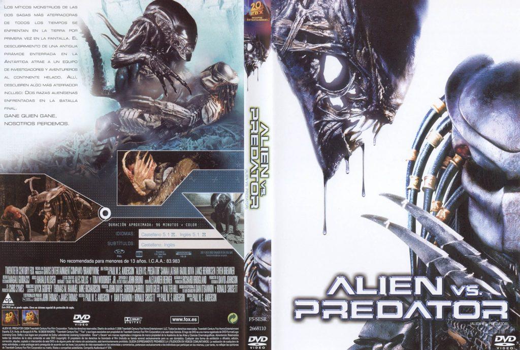 Foto carátula película Alien vs Predator