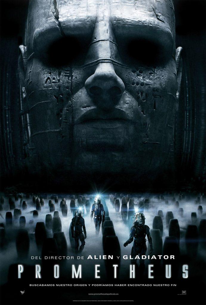 Cartel película Prometheus