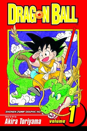 Foto portada comic Dragon Ball Vol 1