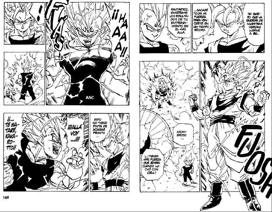 Foto comic manga de Dragon Ball