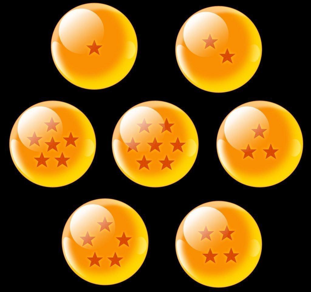 Foto siete bolas de dragón