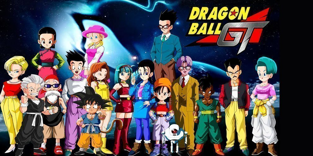 Foto personajes Dragon Ball GT