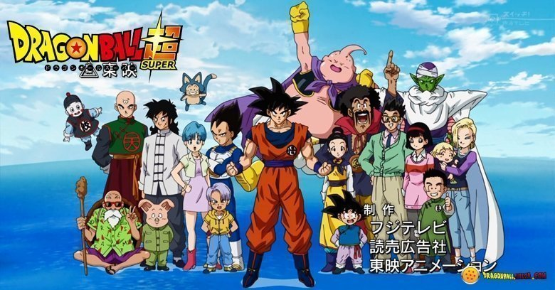 Foto personajes Dragon Ball Super