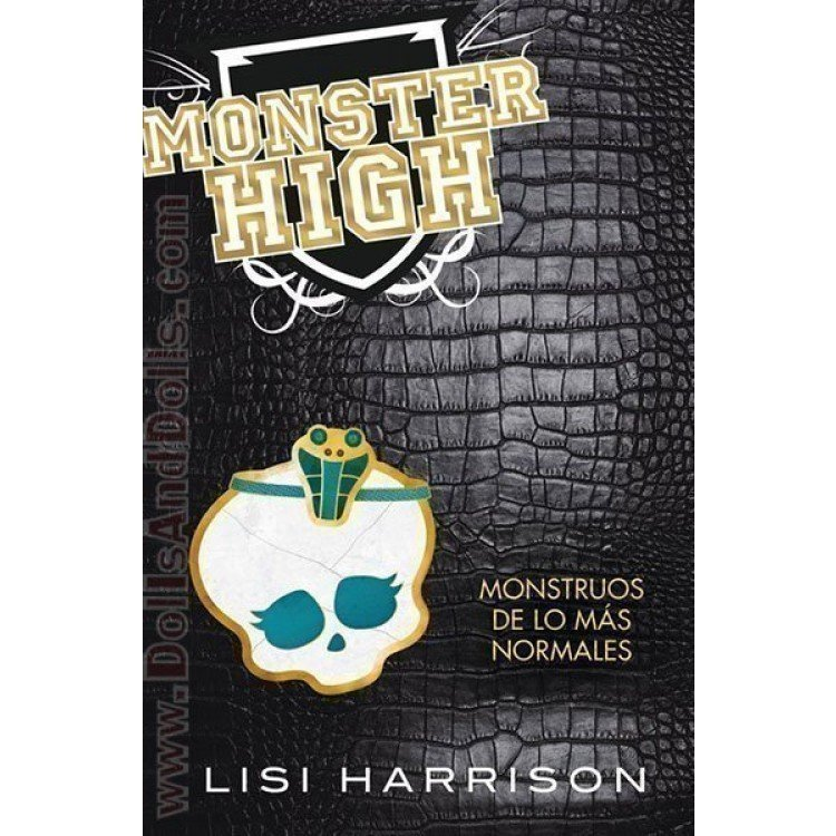 Novel book - Monster High 2: Monstruos de lo más normales
