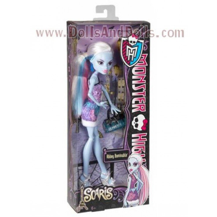 Monster High doll 27 cm - Abbey Bominable Scaris